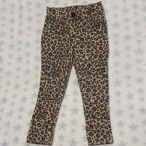 Size 4 H+T leopard / animal print Jeggings